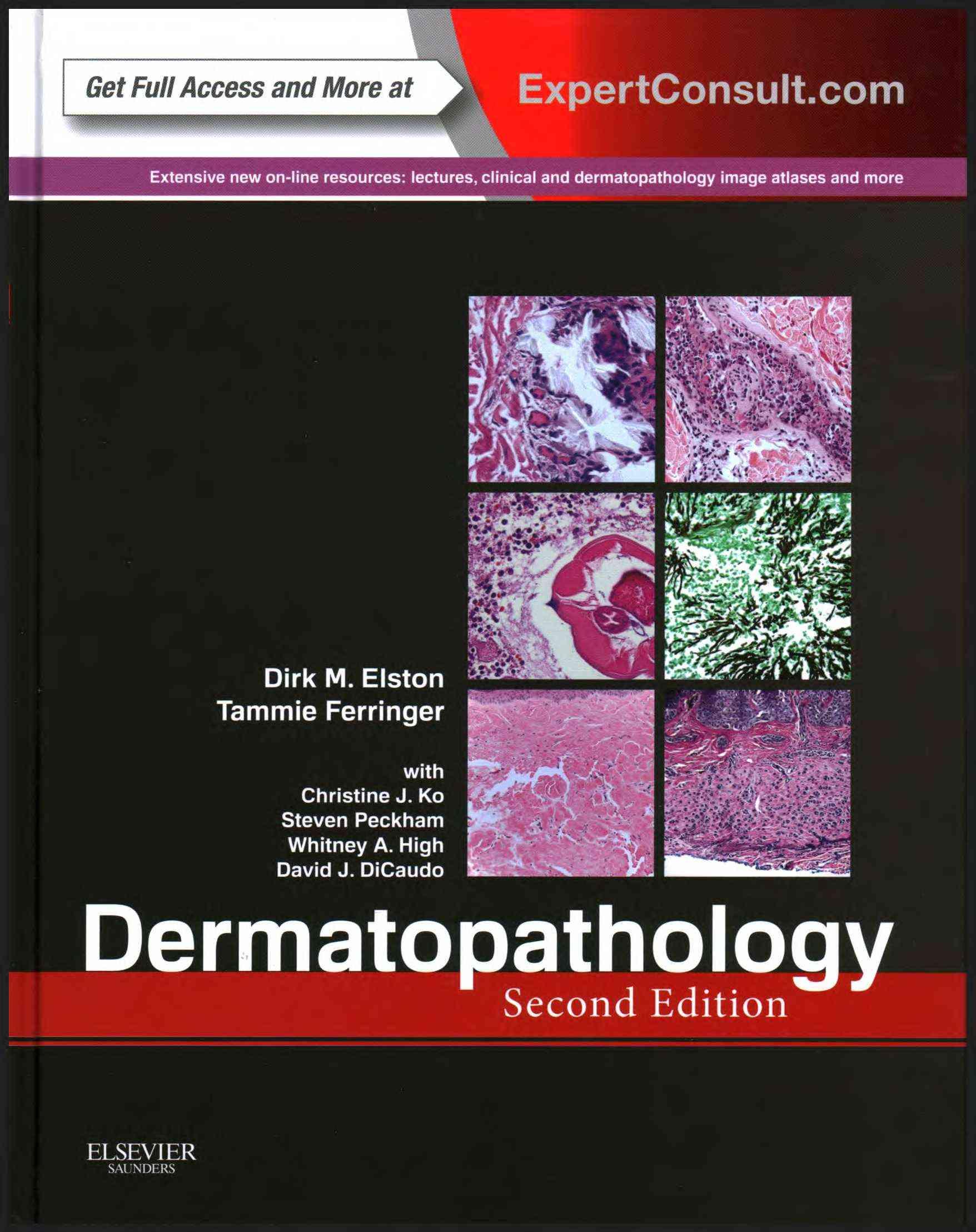 Dermatopathology By Elston, Dirk/ Ferringer, Tammie/ Peckham, Steven/ High, Whitney A./ DiCaudo, David J.